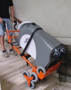Elektryczny schodołaz towarowy MARIO SNN 170kg
