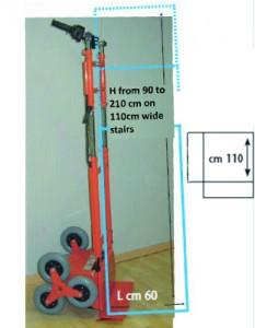 elektryczny wózek przemysłowy MARIO